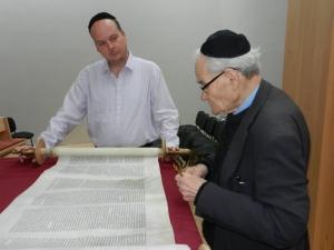 01.11.2012 Zu Besuch in der Synagoge